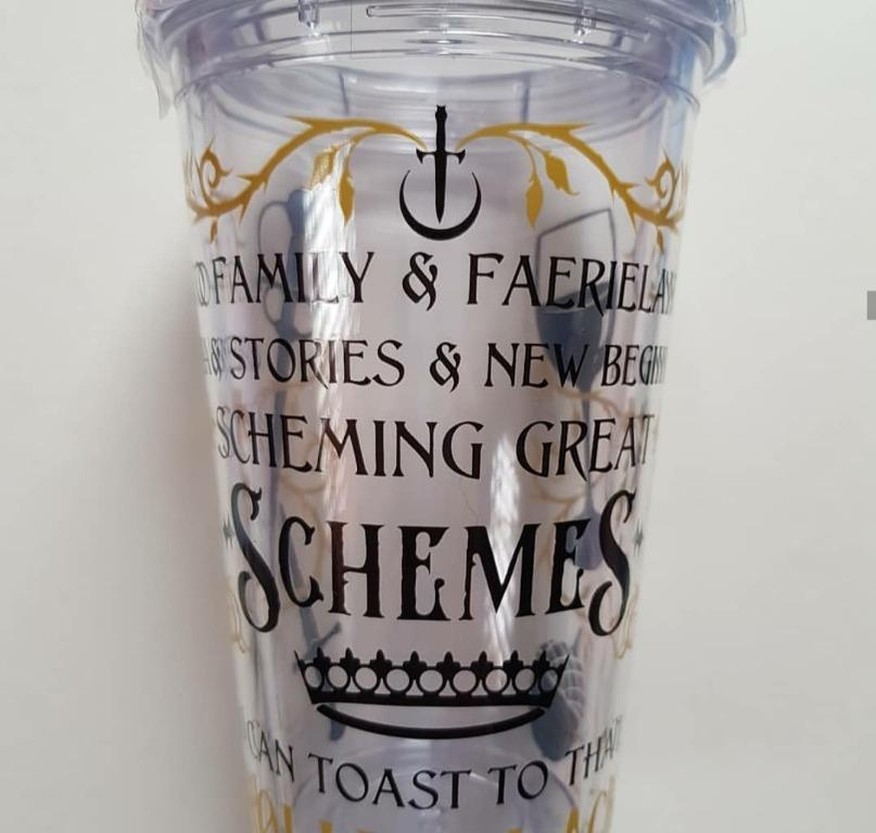 Queen of Nothing by Holly Black inspired Tumbler (The Cruel Price) (The Wicked King)