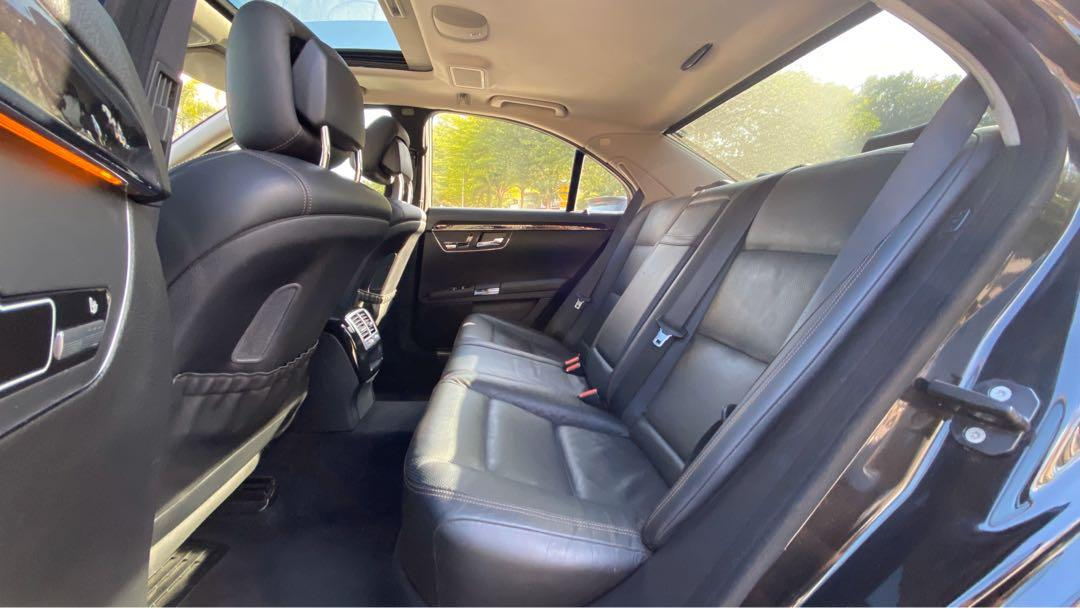 Raya Sale: Mercedes-Benz S550 W221 4.7L Biturbo V8