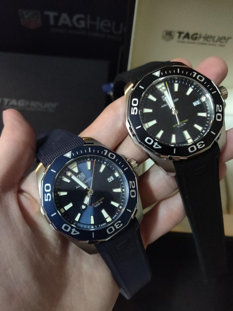(Ready stock) Original Ressambled 原单 TagHeuer Aquaracer SWISS Quartz Movement