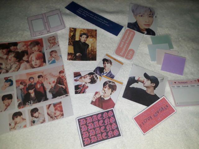 READYSTOCK BTS THEMED PRINTABLES PRINT OUT BULLET JOURNAL BUJO JOURNALING