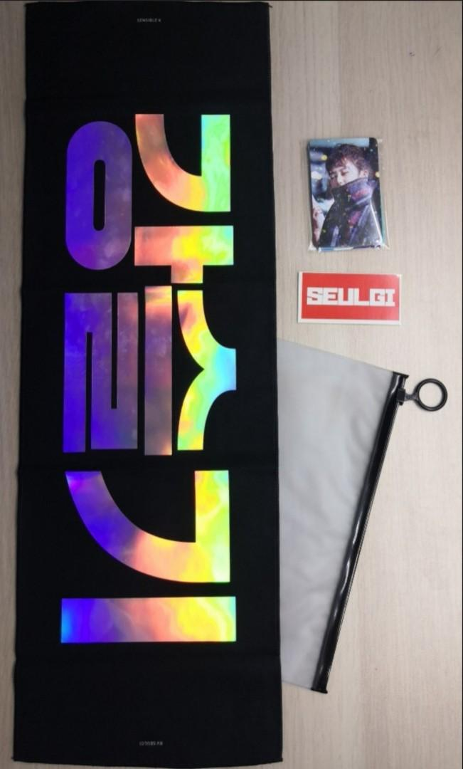 Red Velvet Seulgi Reflective Cheering Slogan (Sen K's)