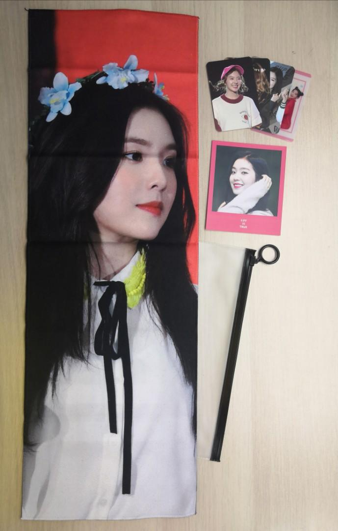 Red Velvet Irene's Reflective Cheering Slogan (BMB's)