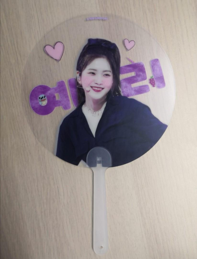 Red Velvet Yeri Reflective Cheering Slogan (Red Purple's)