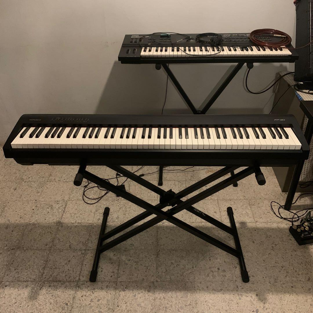 Roland Fp 30 88 Key Digital Piano W Midi Music Media Music Instruments On Carousell