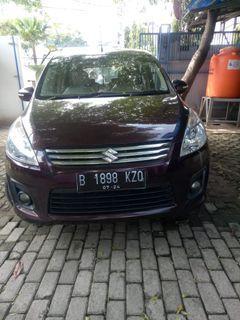 Suzuki Ertiga matic 2014 GL rajin perawatan pajak panjang