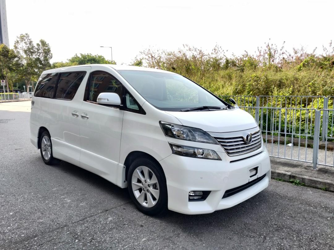 Toyota Vellfire 2.4 Z Manual