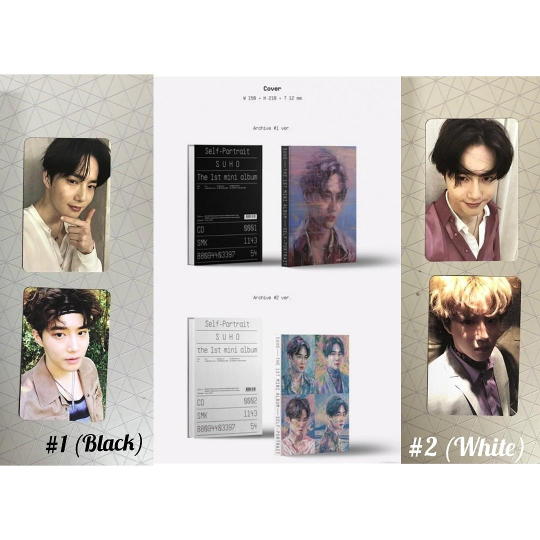 [UNSEALED] SUHO EXO - Self-Portrait (1st Mini Album)