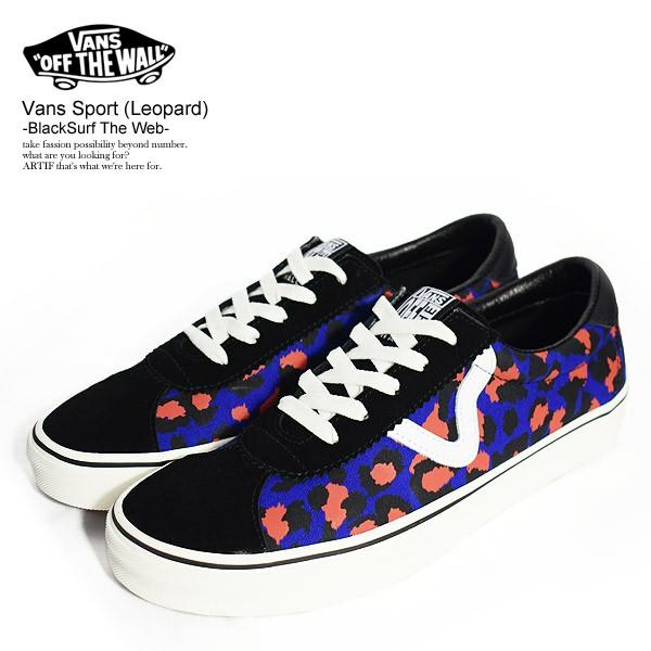 Vans Sport (leopard) blk/Surf The web (reatil price US 80-100)