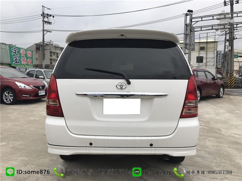 🔥2010年 豐田 INNOVA 白色 職軍專案二手車中古車🔥