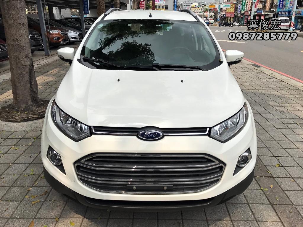 福特原廠認證中古車2017年Ford EcoSport 1.5頂級版 都會輕休旅 試乘車退役車輛 原廠認證