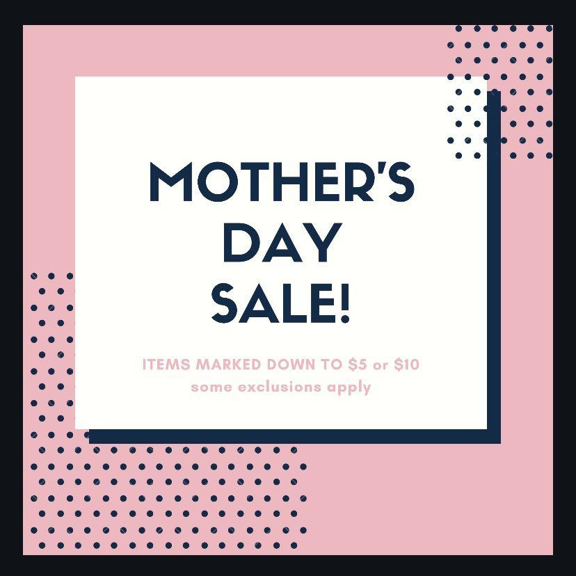 🧡 Mother's Day Sale! 🧡
