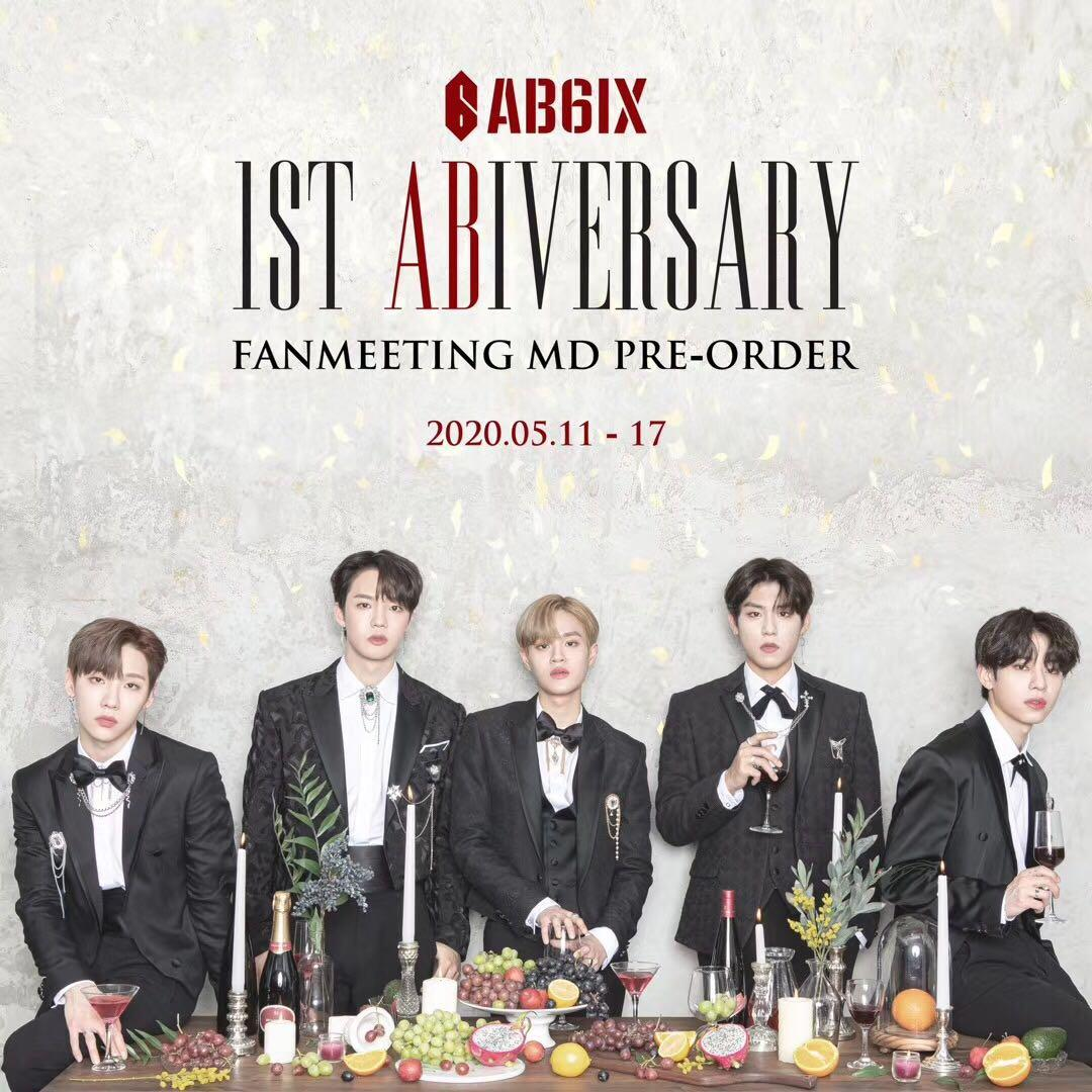 [ PO ] AB6IX  2ND FANMEETING [1ST ABIVERSARY] MD PRE-ORDER