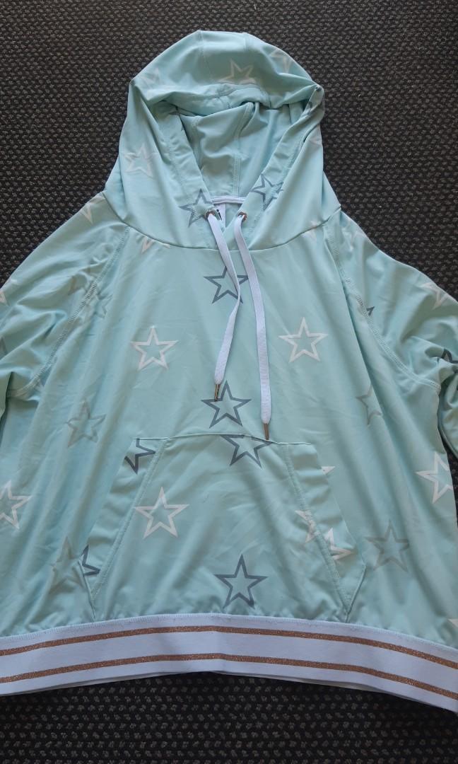Blue star hoodie