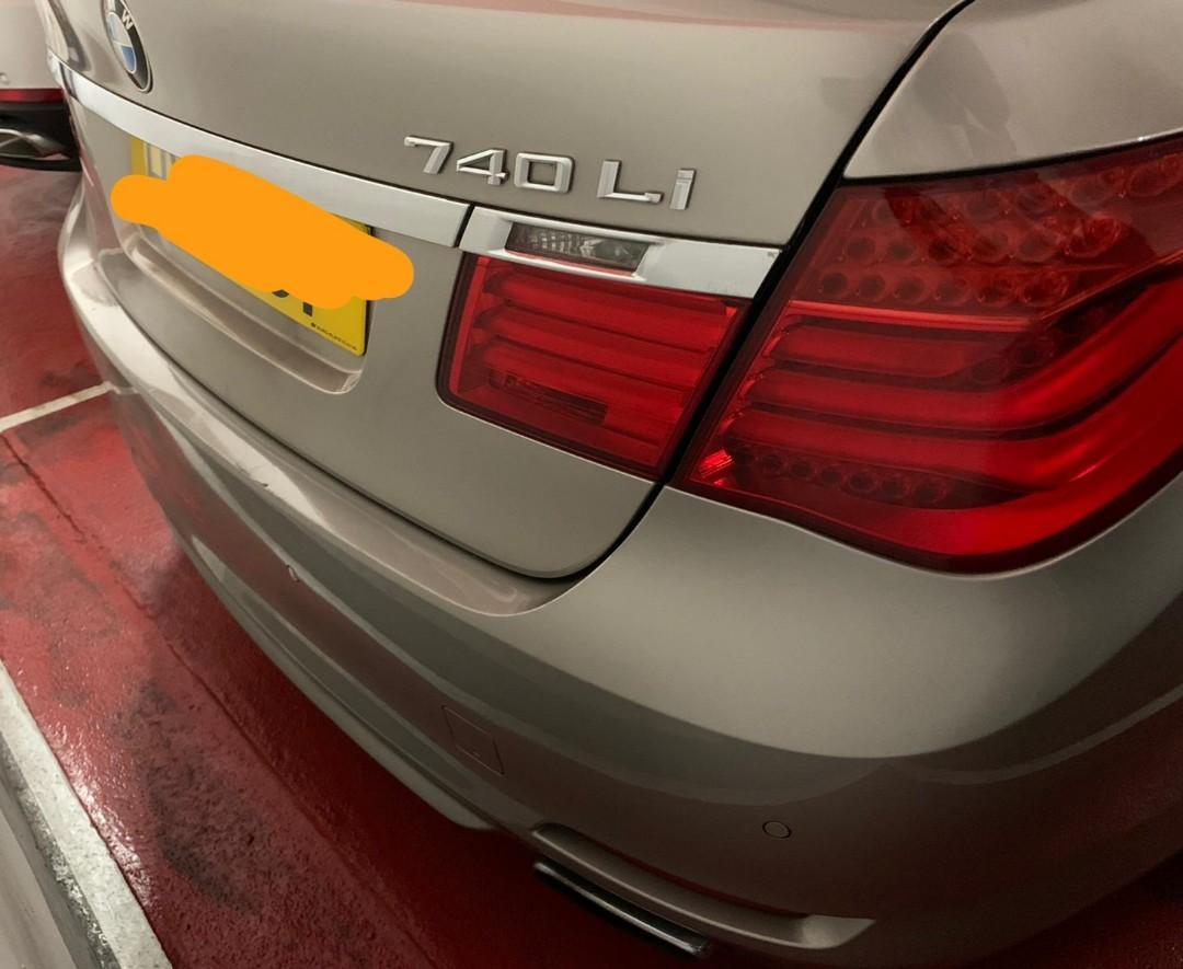BMW 2012 BMW 740LI 2012 BMW 740LI Auto