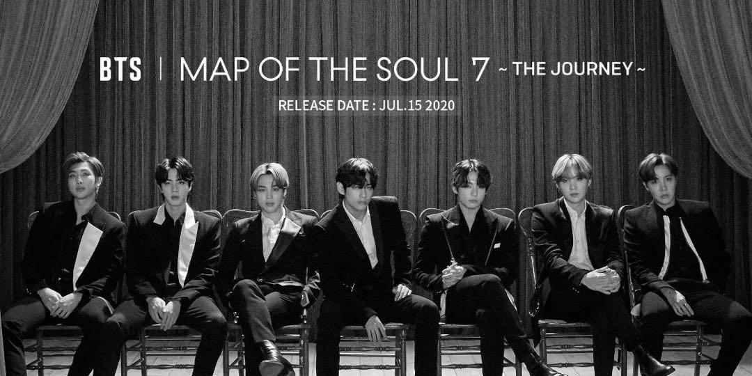 BTS -  Map of the soul 7 ~ The Journey~  Japanese album