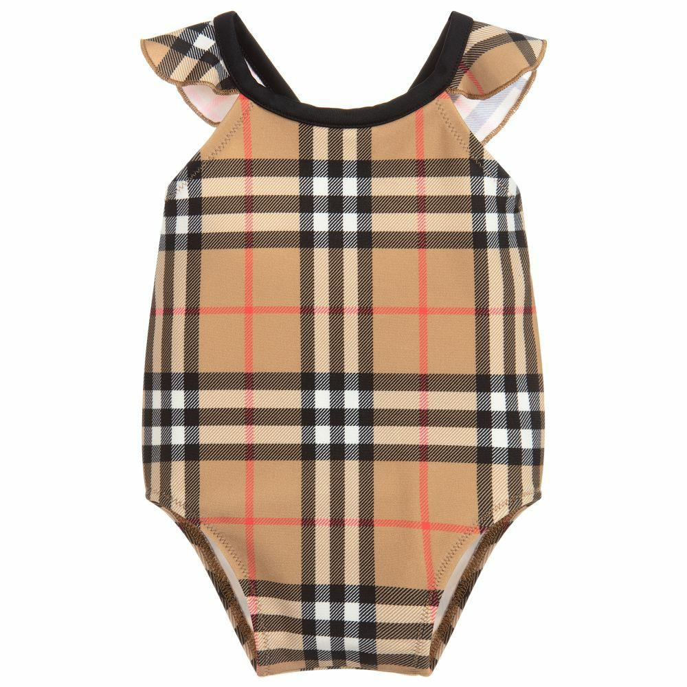 Burberry Baby Swimsuit one piece free shipping
