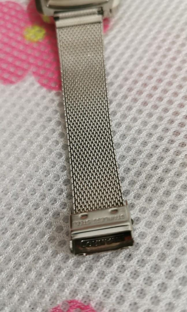 cornavin winding. original crown and strap.the surrounding watch disc colour is original disc colour not because colour change