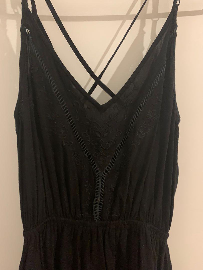 Cotton On little black summer dress