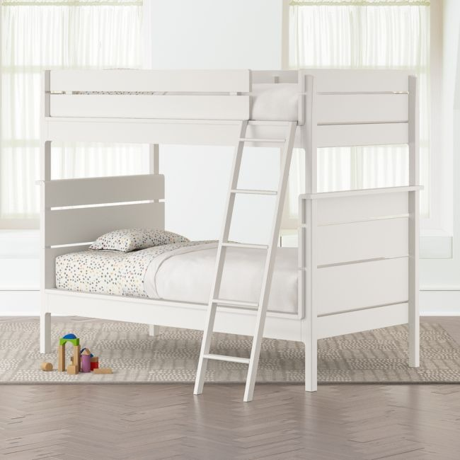 Crate Barrel Kids Twin Size Bunk Bed Furniture Beds Mattresses On Carousell