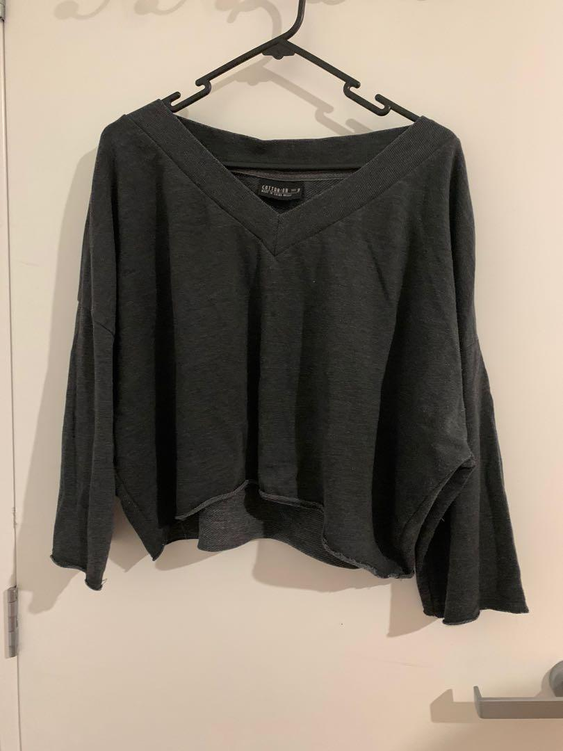 Cropped Cotton On Top