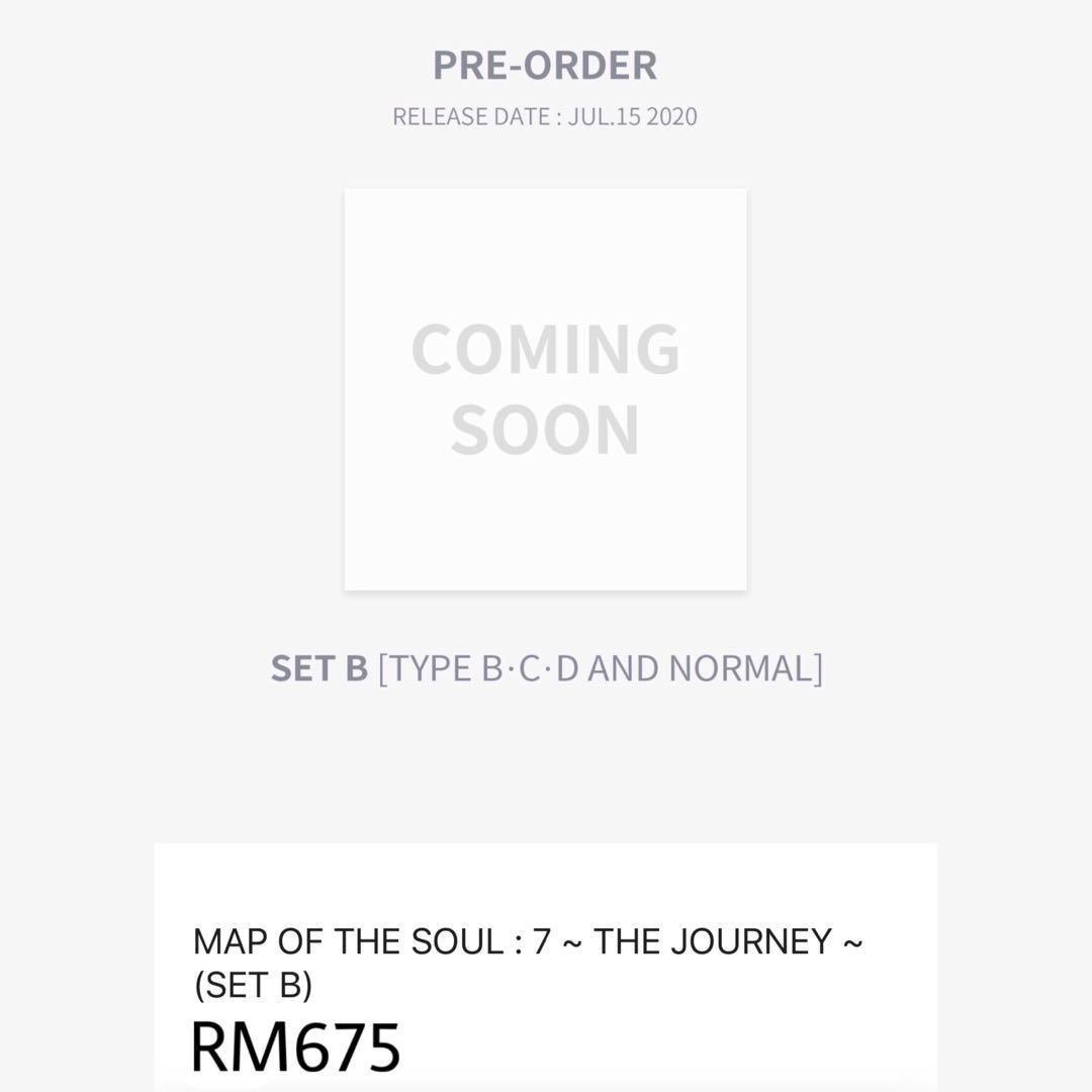 [FAST GROUP ORDER] BTS 4th Japan Album 『MAP OF THE SOUL : 7 ~ THE JOURNEY ~ 』