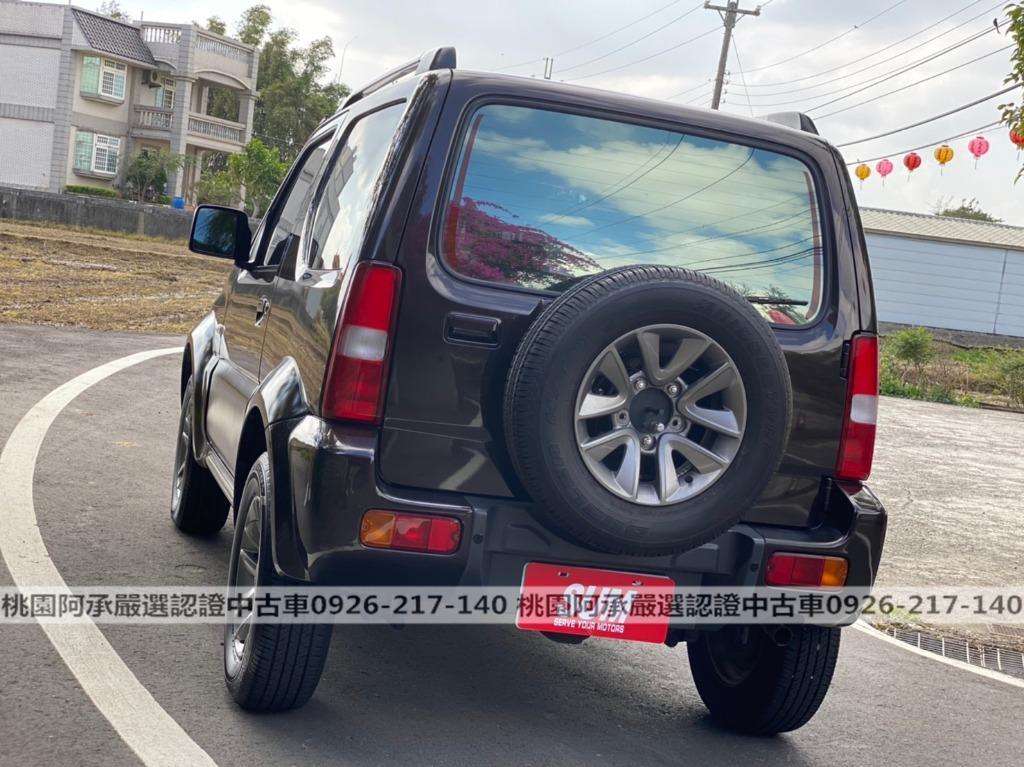 【FB搜尋桃園阿承】鈴木 超人氣JIMNY 2015年 1.3CC 棕色 二手車 中古車