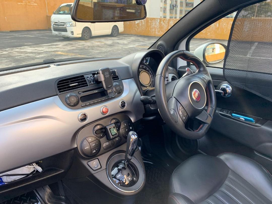 Fiat 500s Convertible Auto