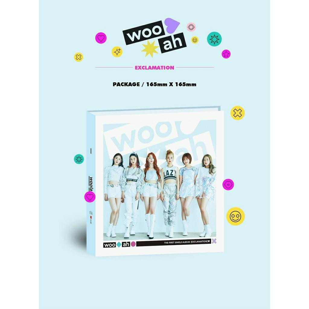 (FREE POSTAGE) WOO!AH! - EXCLAMATION 1st Single Album