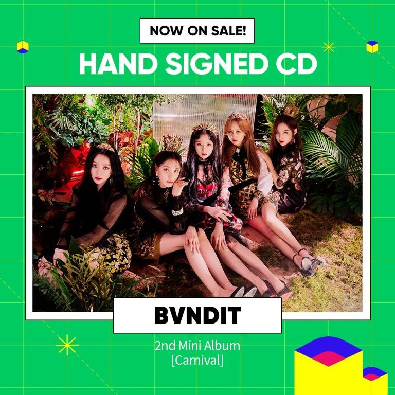 [GO] ALL MEMBERS SIGNED BVNDIT - 2ND MINI ALBUM [Carnival]