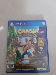 Kaset PS4 Crash Bandicoot N Sane Trilogy BD