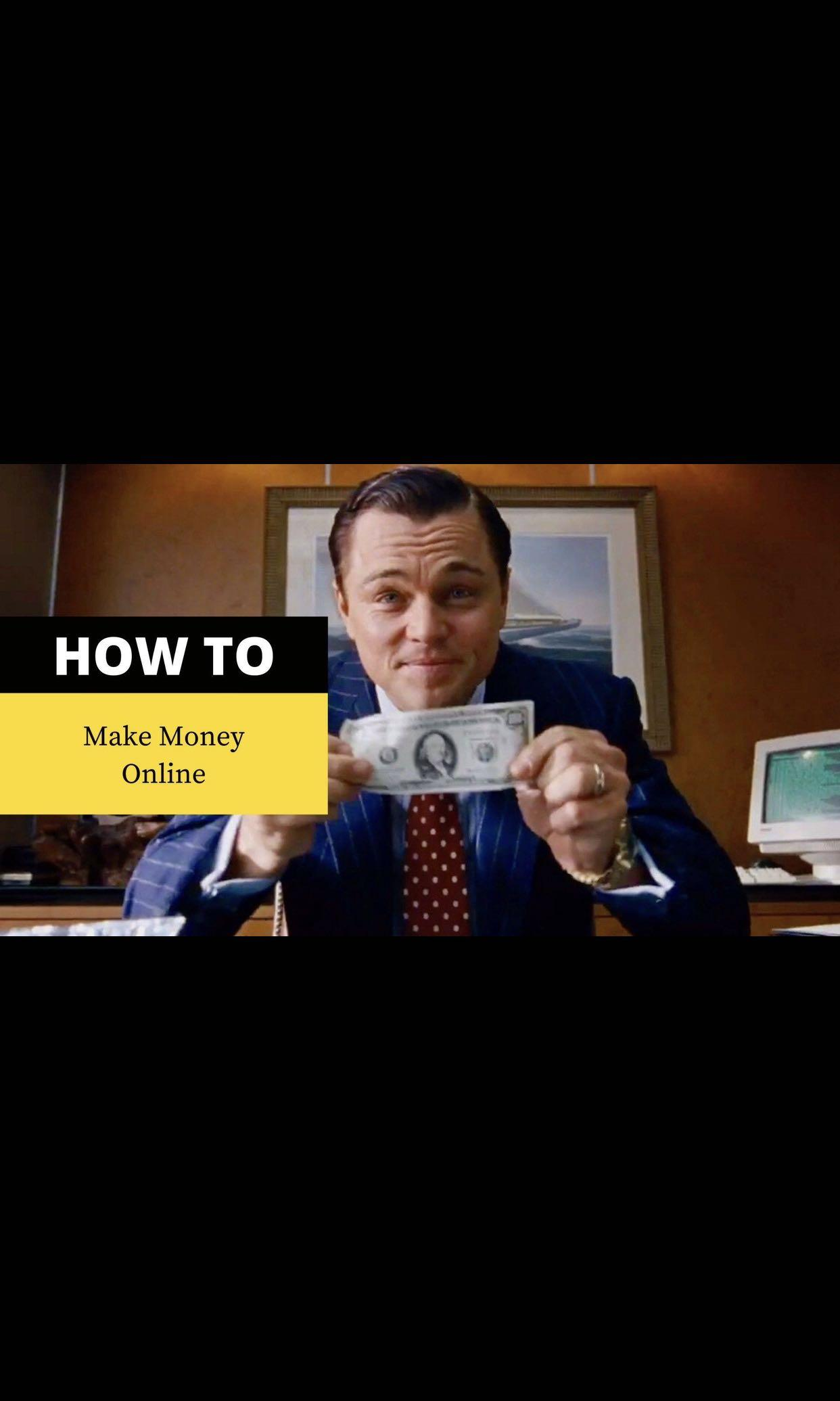 Learn how to make money online only for serious people