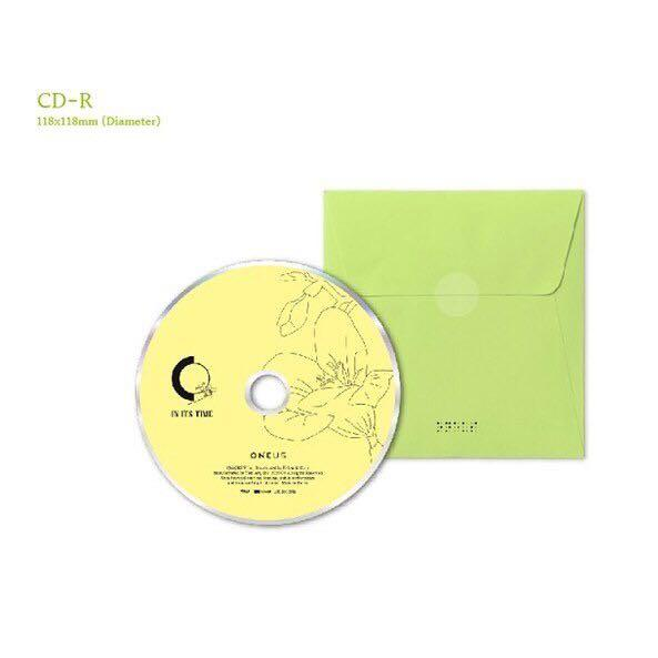 ONEUS - IN ITS TIME (1ST SINGLE ALBUM)(+All package+Preoder poster)