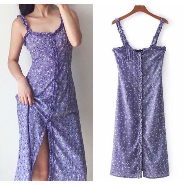 Realization Par Juliet Purple Haze Dress Dupe XS/S