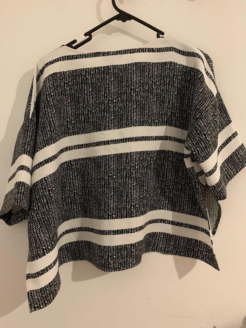 Striped TopShop Shirt