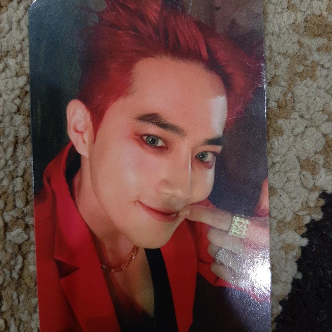 [WTS/WTT/Trade]  EXO suho official obsession photocard