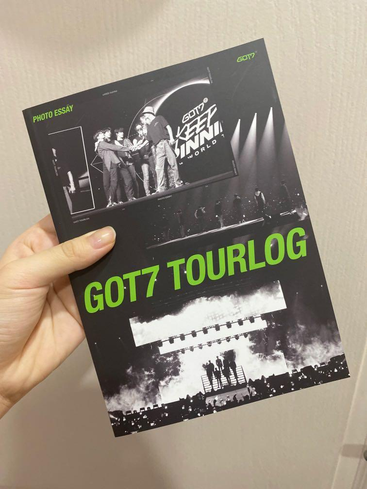 [WTS] GOT7 DYE ALBUM PREORDER BENEFIT TOURLOG PHOTO ESSAY