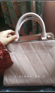 Zalora Pink Hand Bag