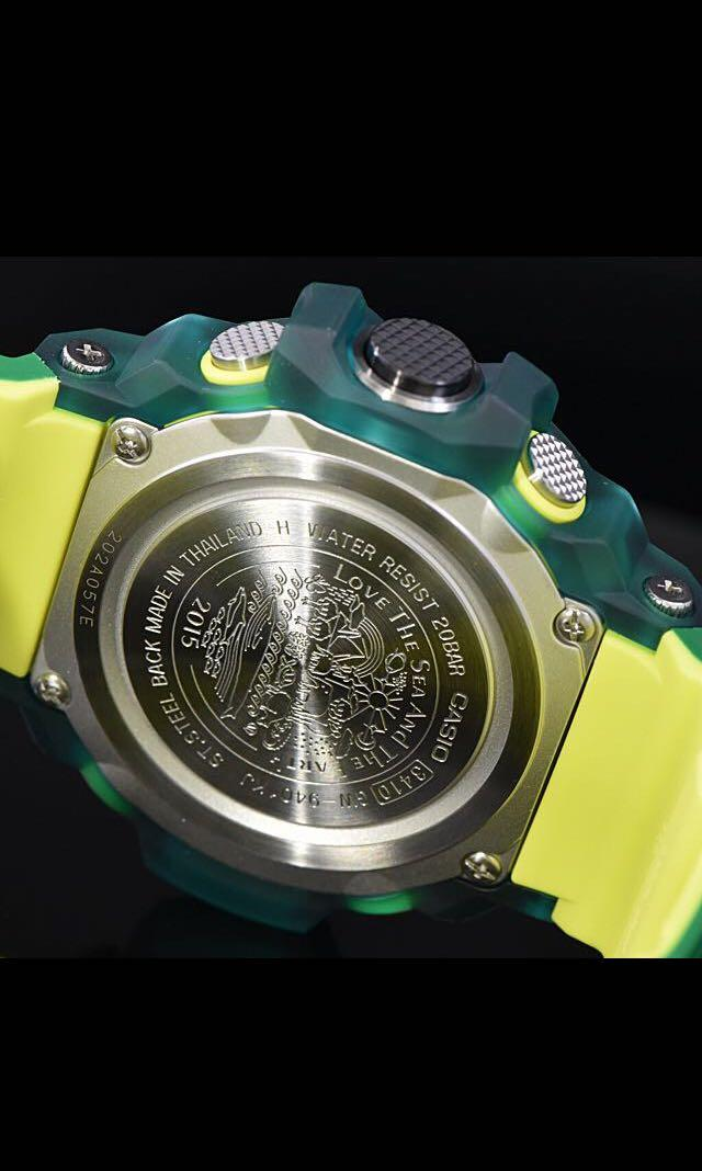 100% Authentic new sealed Casio G-Shock ICERC Green Rangeman GW-9401KJ-3 Band and Bezel Set Limited Edition Ultra rare