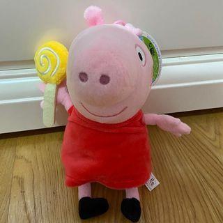 佩佩豬玩偶(全新約15公分)