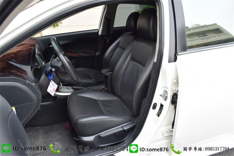 🔥2011年 豐田 ALTIS 白色 職軍專案二手車中古車🔥