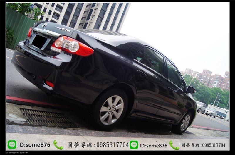 🔥2011年 豐田 ALTIS 黑色 職軍專案二手車中古車🔥