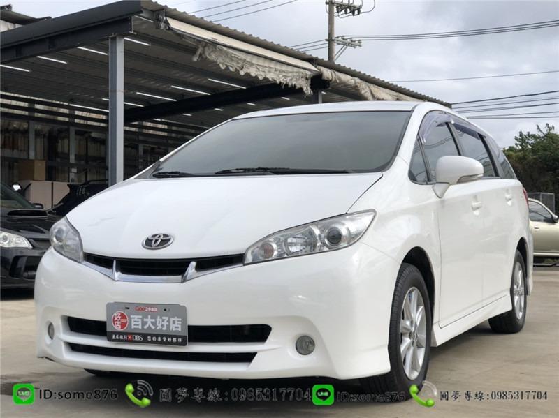 🔥2011年 豐田 WISH 白色 職軍專案二手車中古車🔥