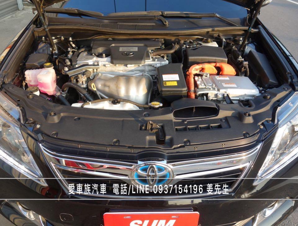 2013年 TOYOTA CAMRY HYBRID 油電混合車