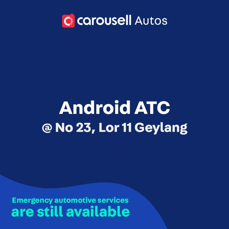 Android ATC - Emergency automotive services still available