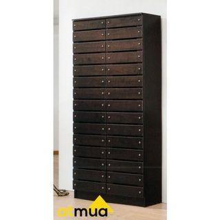 Atmua Furniture Pallet 2 Door High Shoes Cabinet
