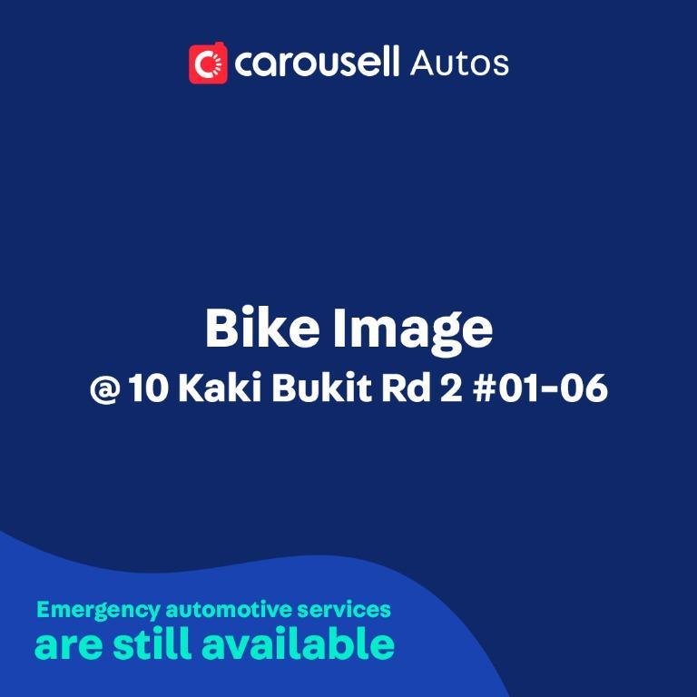 Bike Image - Emergency automotive services still available