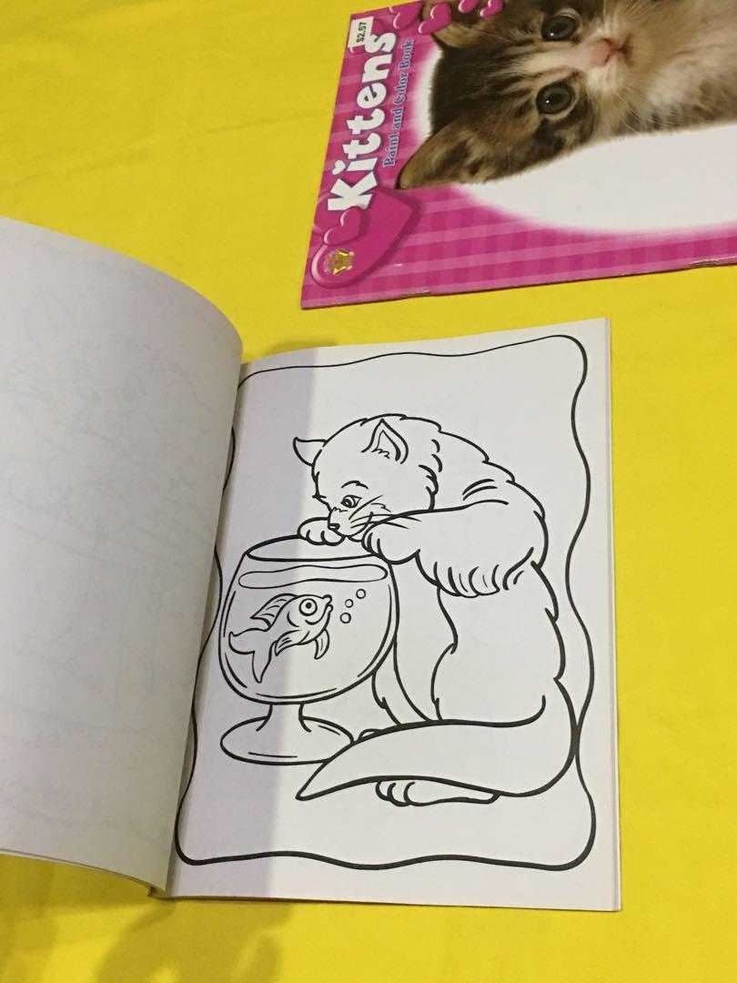 Bundle 2 - Flip Click Memory  Sports Match Game - Kitten Cat Paint Color Exercise Book