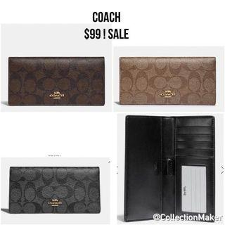 Coach Authentic wallets and wristlets