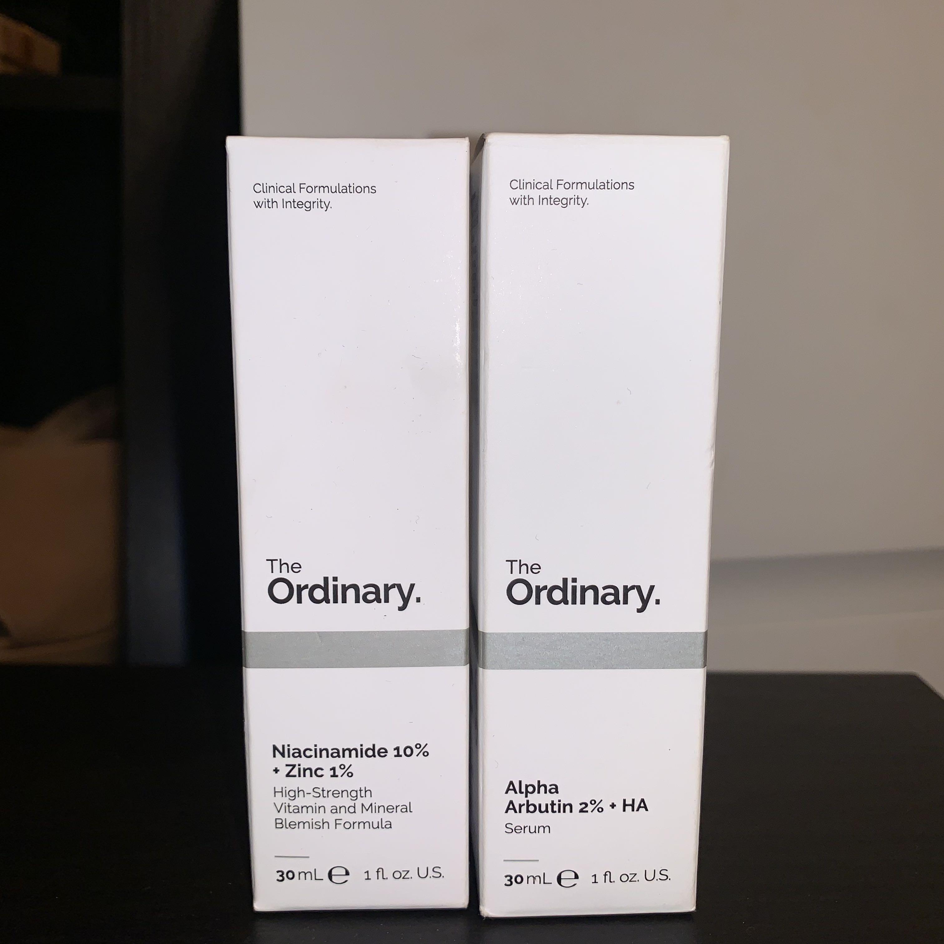 Deciem The Ordinary Niacinamide 10% + Zinc 1%
