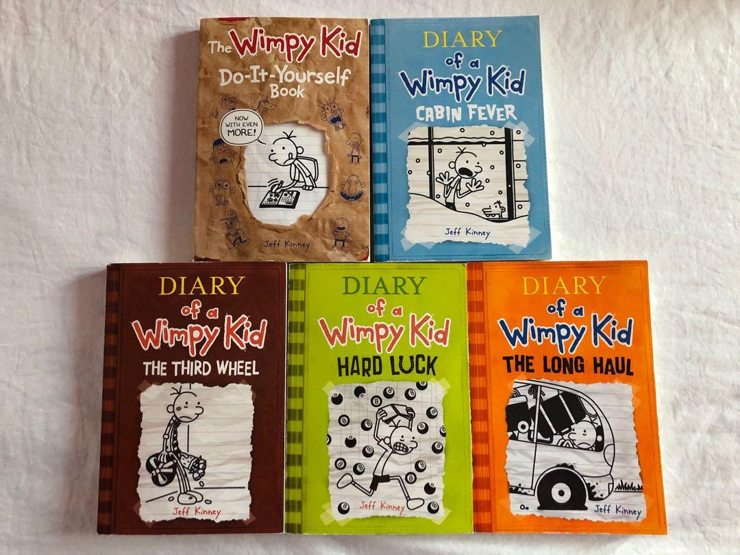 Diary of a Wimpy Kid Book Set (5 books)